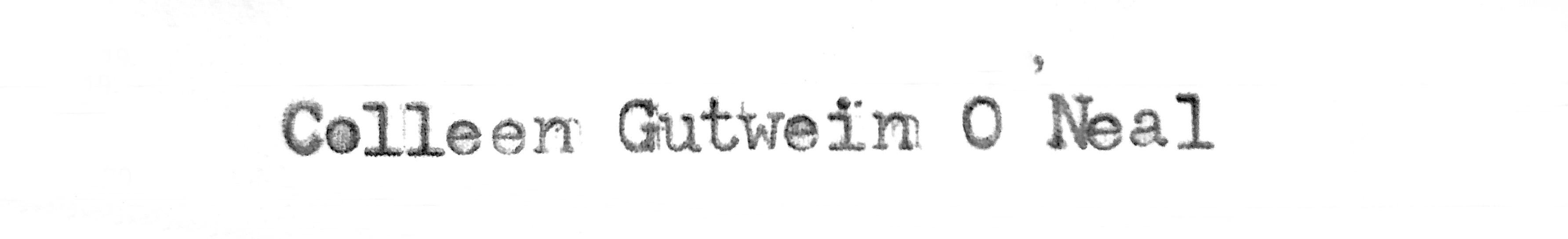 Colleen Gutwein